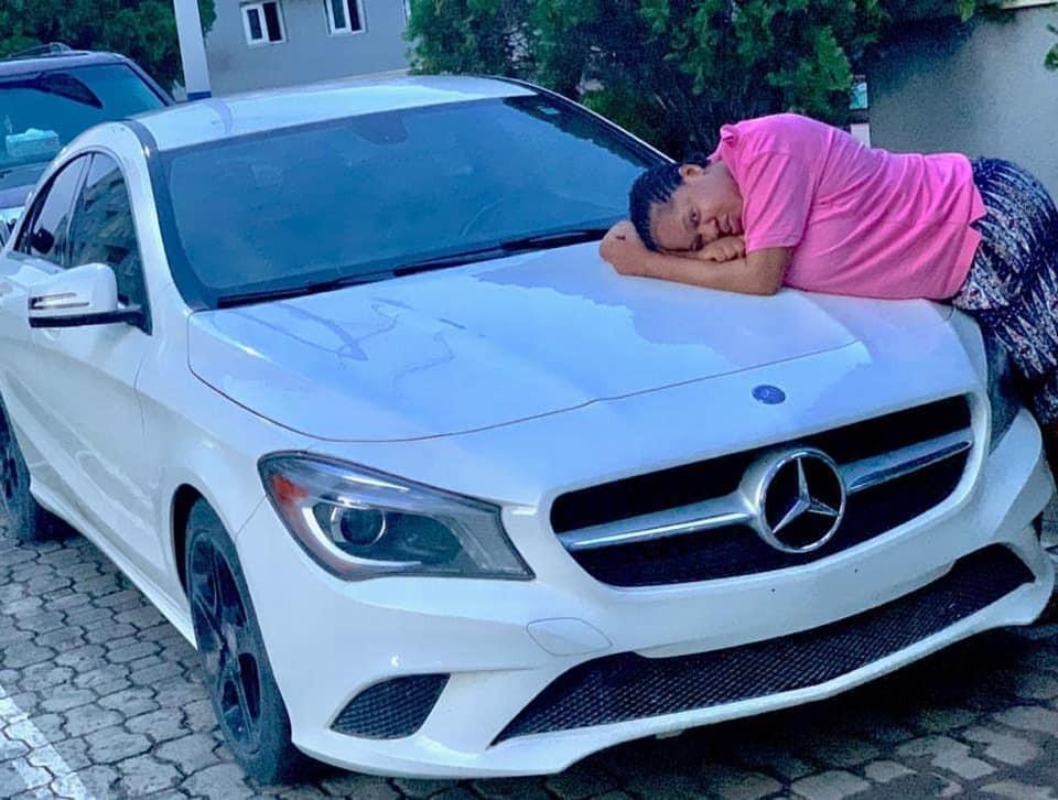 Toyin Abraham buys a new car  lindaikejisblog