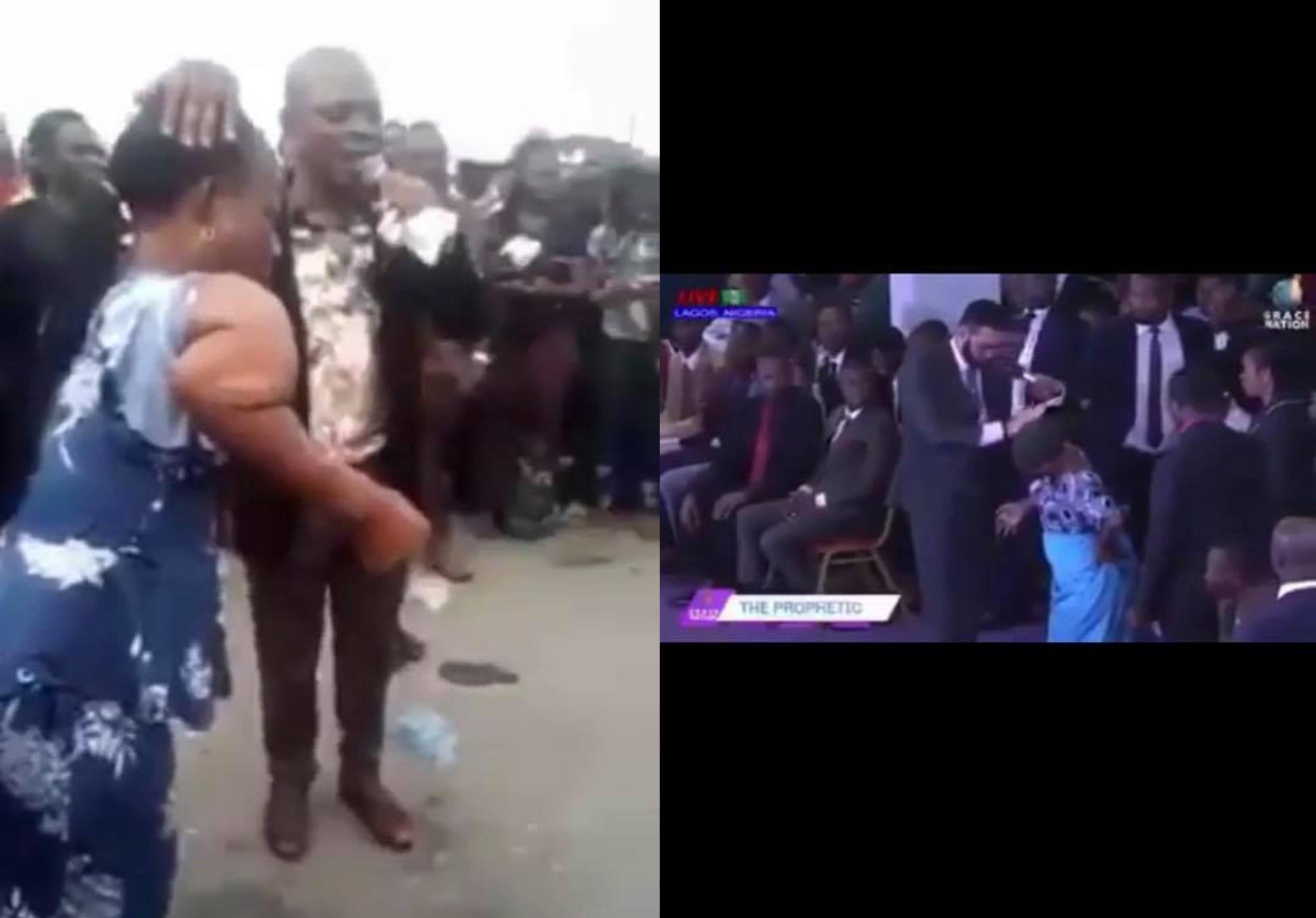 Two Nigerian Pastors allegedly use same woman for same miracle lindaikejisblog