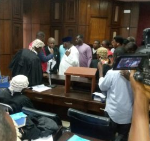 The Federal High Court, Abuja, on Friday, ordered the Economic Financial Crimes Commission (EFCC) to remand Abdulrasheed Maina, former Chairman, Pension Reform Task Team, in the Nigerian Correctional Services centre pending the ruling of the case.  Justice Okon Abang, who gave the order adjourned the matter till Oct. 30 for the commencement of trial.  Mainas son, Faisal, is also being arraigned in the same court on a separate but similar charge. However, Faisals case is yet to be called at the time of sending this report.  The Federal High Court, Abuja, ordered the Economic Financial Crimes Commission (EFCC) to keep Faisal Maina in police custody, pending the determination of the case before it.  Justice Okon Abang, who gave the order adjourned the matter until Nov. 6 for trial.  The judge ordered that he, Faisal be remanded at the Police Tactical Squad, Asokoro.     EFCC, the anti-graft agency is arraigning the former pension task team chairman on a 12-count charge bordering on money laundering, operating fictitious bank accounts and fraud.  The development is coming after Folashade Ogunbanjo, a judge, ordered the forfeiture of 23 property linked to him. The judge gave the order following an ex parte motion filed by the EFCC.  EFCCs motion was supported by a 30-paragraph affidavit which is brought according to section 17 of the Anti-money Laundering Act. Maina is accused of being involved in pension fraud running into over N100 billion.  The Federal Civil Service Commission dismissed him in 2013 for absconding from duty but he returned to the country in 2017 and was reinstated as a director in the interior ministry.  Following the outrage, President Muhammadu Buhari ordered his dismissal and demanded a probe of his recall.