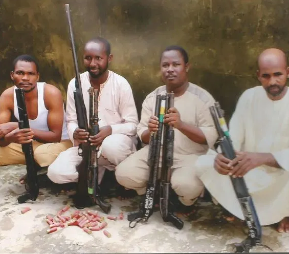 SARS operativesrescueOgun State based businessman from kidnappers den, arrestfour suspects (Photo)