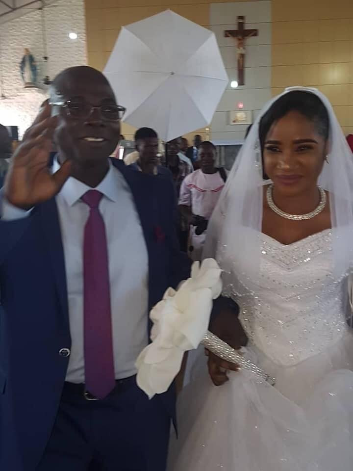 Photos from wedding ceremony of former Catholic Priest of 25 years in Kaduna lindaikejisblog  4