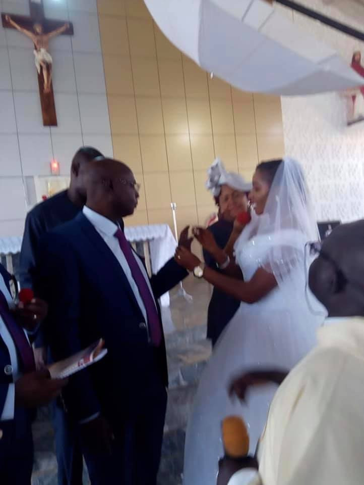 Photos from wedding ceremony of former Catholic Priest of 25 years in Kaduna lindaikejisblog  5