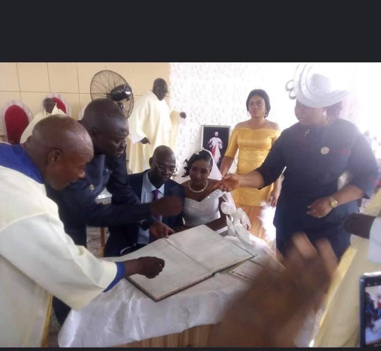 Photos from wedding ceremony of former Catholic Priest of 25 years in Kaduna lindaikejisblog  6