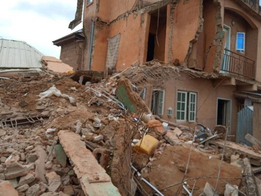Two-storey building collapses in Jos lindaikejisblog