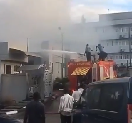 Fire Incident: Only disused computers, stationery got burnt - FIRS
