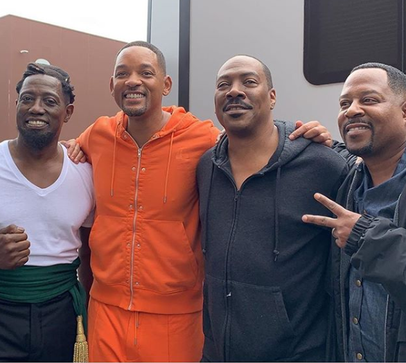 #BlackExcellence: Iconic photo of Will Smith, Martin Lawrence, Wesley Snipes and Eddie Murphy