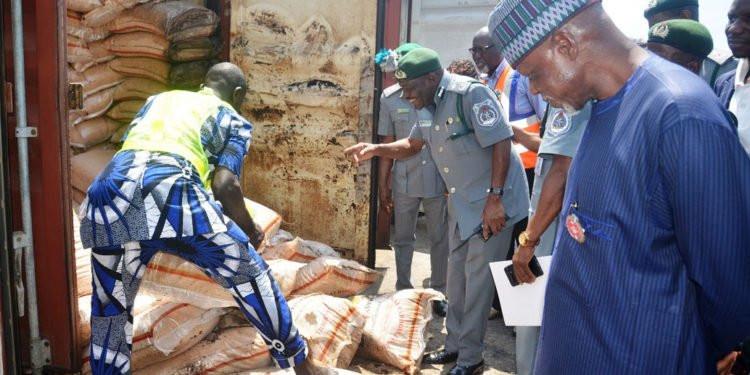 Customs seizes expired N2.7b rice lindaikejisblog