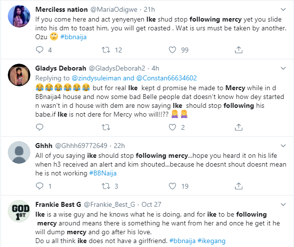 Ike reacts after being trolled on for following Mercy everywhere she goes lindaikejisblog 1