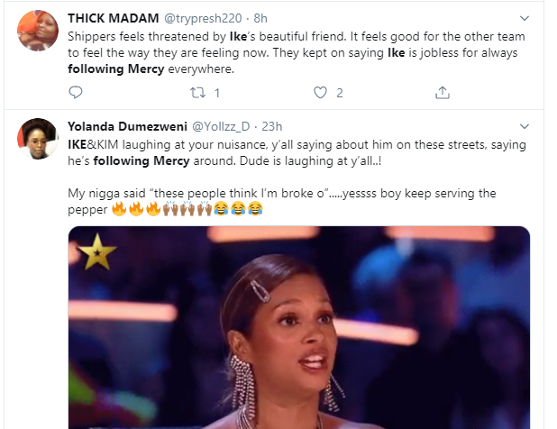 Ike reacts after being trolled on for following Mercy everywhere she goes lindaikejisblog 2