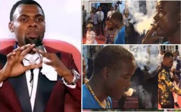 Man who smoked weed in church exposes Rev. Obofour, says he was hired to play the act lindaikejisblog
