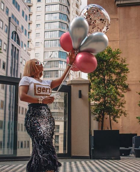 Toke Makinwa shares sexy new photos to celebrate her 35th birthday #Toke #Makinwa