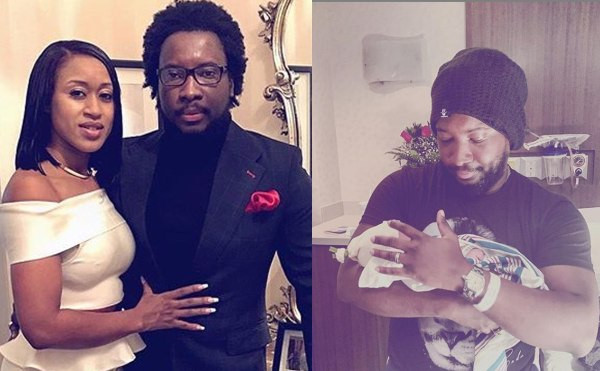 Gospel singer, Sonnie Badu and wife Ann-Marie welcome their fourth child lindaikejisblog
