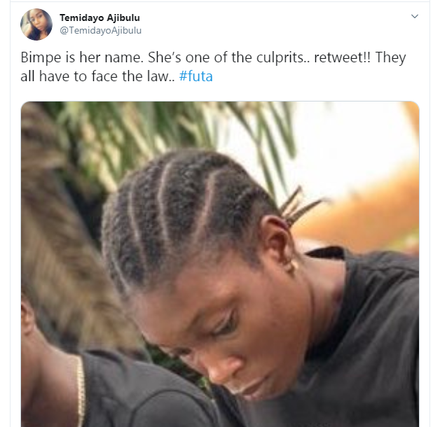 FUTA students who ganged up to beat a 100 level female student have been identified and arrested, see their photos lindaikejisblog 3
