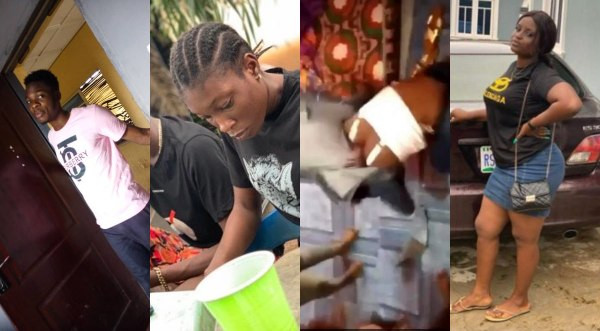 FUTA students who ganged up to beat a 100 level female student have been identified and arrested, see their photos lindaikejisblog