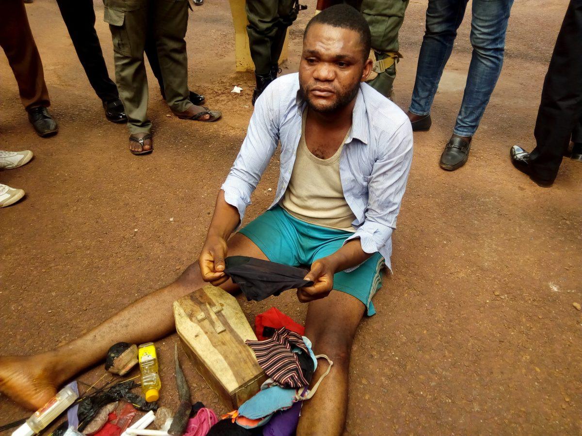 Coffin, female panties recovered from Enugu pastors house lindaikejisblog