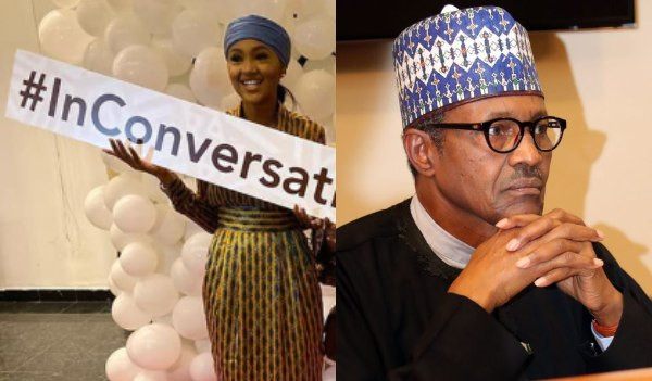 People blame me for my father's action - Zahra Buhari says as she publicly supports the social media bill lindaikejisblog