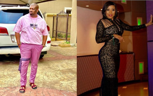 Don't disrespect women - Don Jazzy tells Actress Uyanda Mbuli over comment about his 'unironed' cloth lindaikejisblog