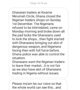 Ghanaian traders allegedly close down shops owned by Nigerian traders, ask them to leave lindaikejisblog 1