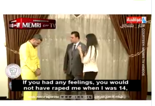 Youve destroyed my life and took everything from me' - Former Yazidi slave confronts her ISIS rapist on Iraqi TV(Video)