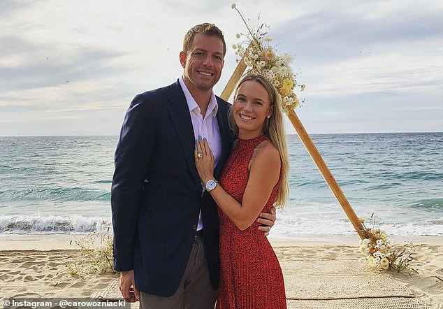 Caroline Wozniacki announces retirement from tennis to focus on starting a family withher husband David Lee