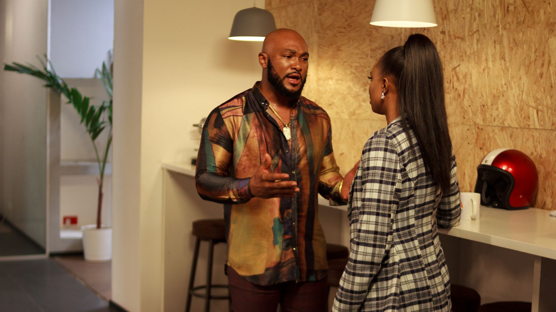 Teaser: INKBLOT teams up with Funke Akindele Bello for Chinaza Onuzo's directorial debut, 'Who's The Boss' (Photos)