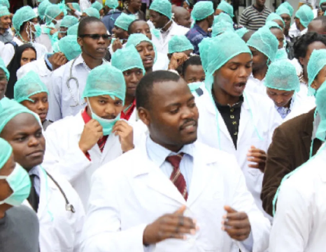 Only 42,000 doctors out of the 75,000 registered by Nigeria Medical Associationare available for Nigerias 200 million people - New Report