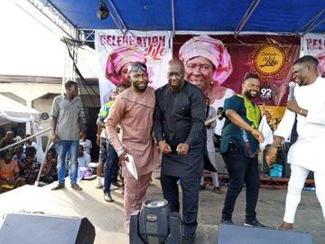 Twitter users accuse Bishop Umoh 'Okon Lagos' of faking his weight loss lindaikejisblog 7