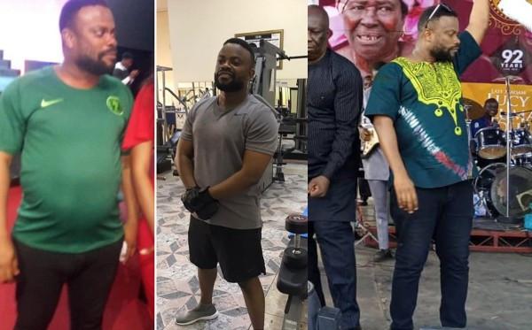 Twitter users accuse Bishop Umoh 'Okon Lagos' of faking his weight loss lindaikejisblog