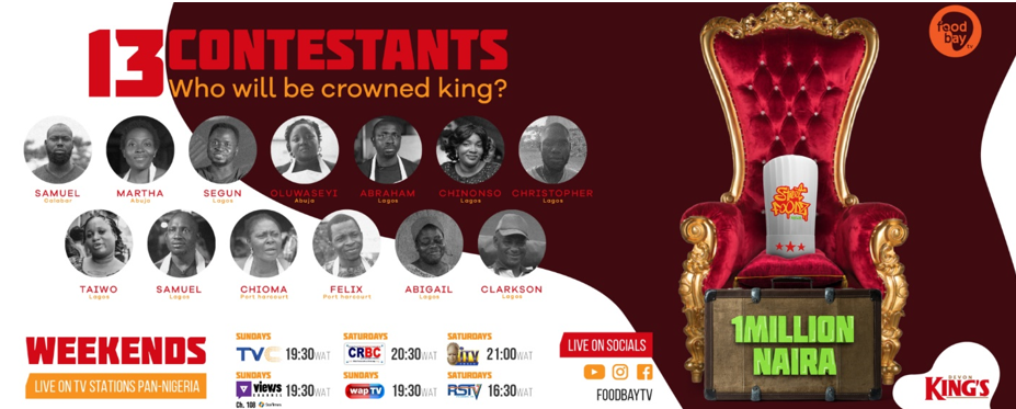 #StreetFoodzNaijaKings Meet your 13 Contestants in the King of Street Foods ContestVoting Begins