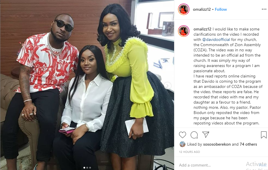 I have nothing to do with COZA - Davido reacts to promotional video after being called out by Nigerians lindaikejisblog 2