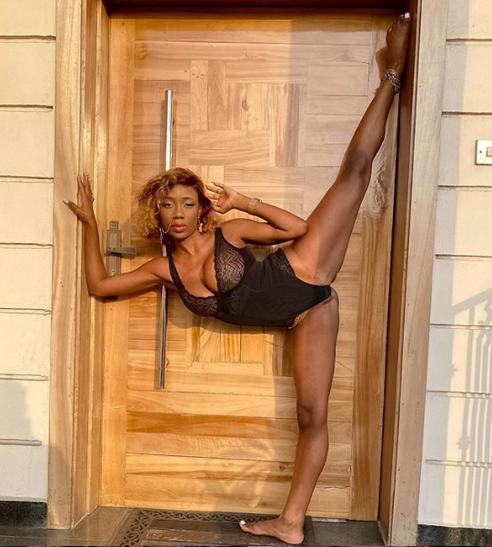 Dancer, Korra Obidi, shares raunchy swimwear photo