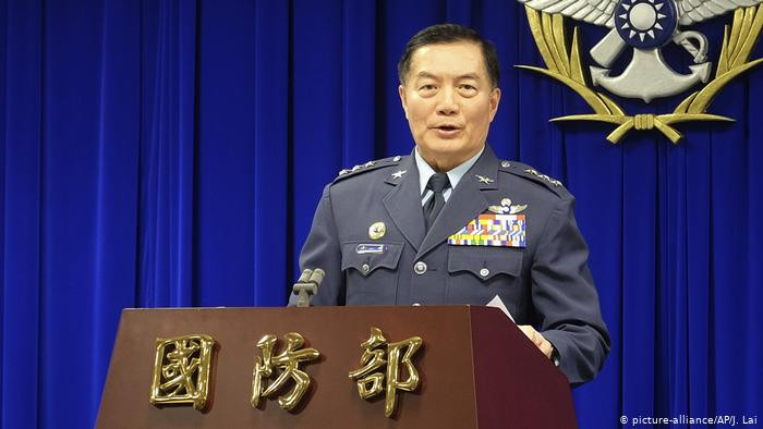 Taiwan top general killed in helicopter crash