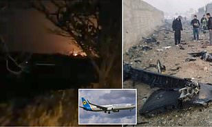 Iran denies shooting down Ukrainian aircraft; blames crash on technical faults. 1