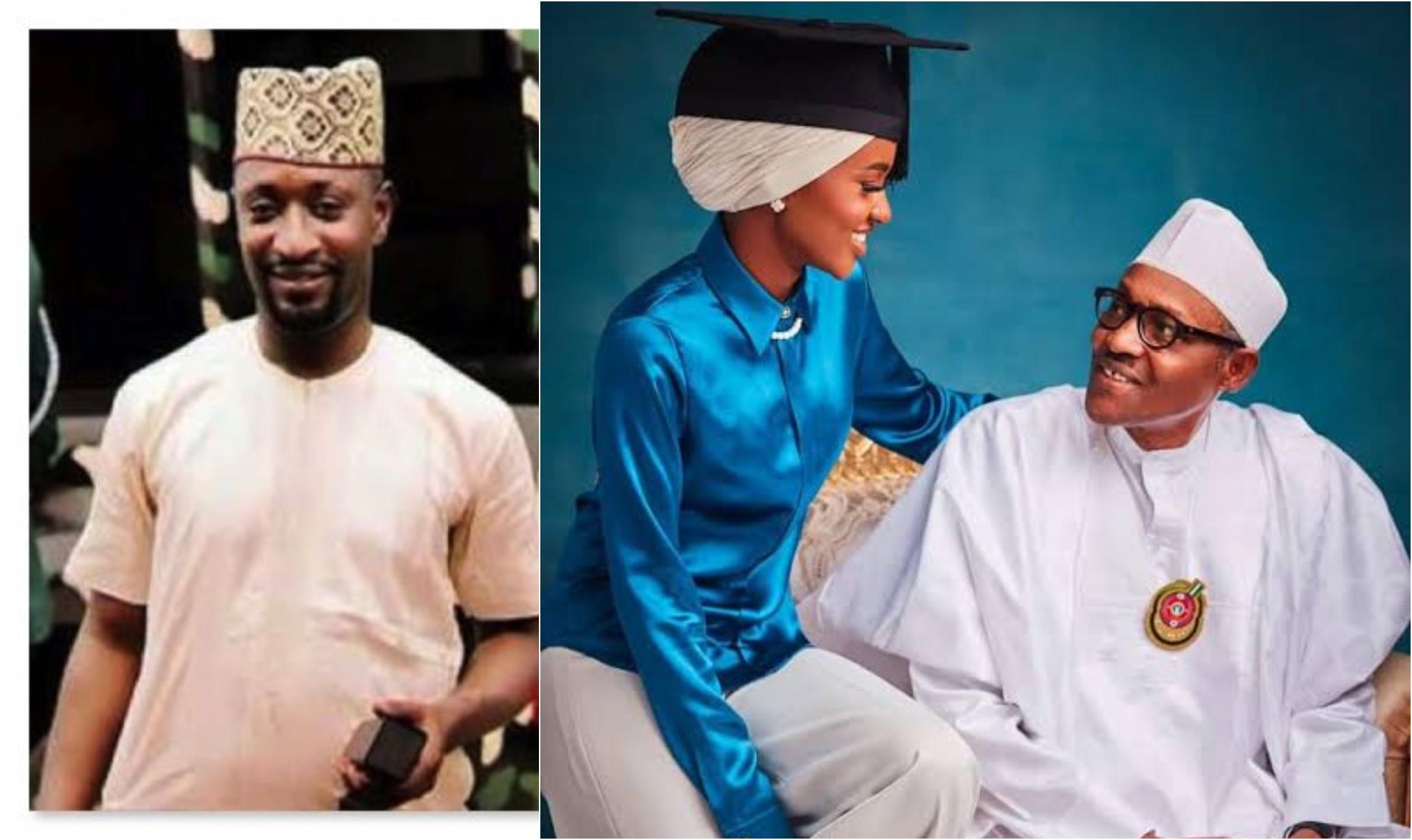 President Buharis daughter, Hanan and DSS sued for N500m lindaikejisblog
