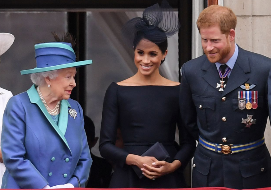 Meghan Markle didn't dial in for crisis talks between Prince Harry and the Queen