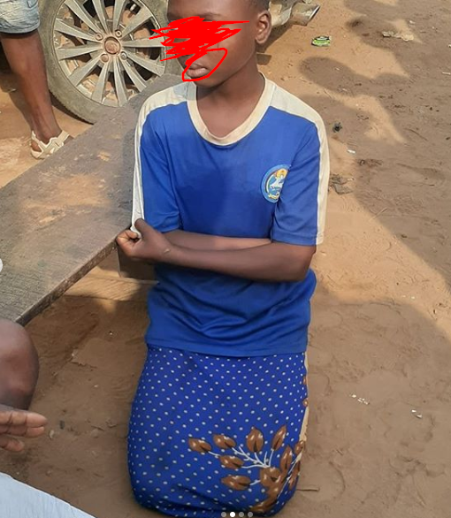 Mum nabbed after pimping out her 12-year-old daughter to a 26-year-old man for 3 years lindaikejisblog 2