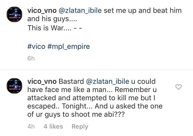 Vic O accuses Zlatan Ibile of setting him up and beating him lindaikejisblog 1