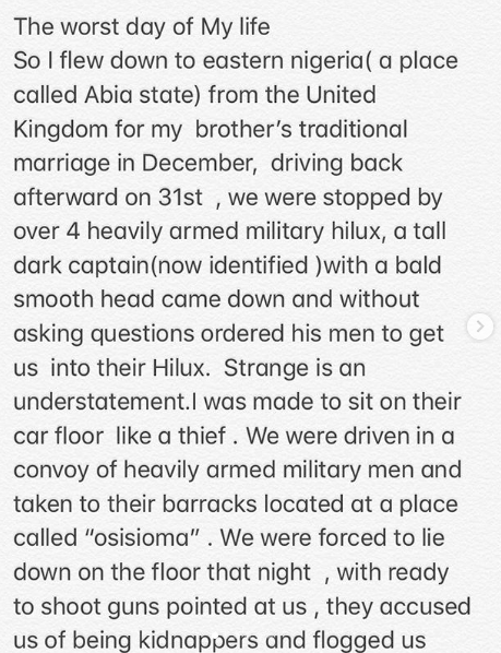 We don't have human rights in Nigeria - Army officer tells UK-based Nigerian businessman he dehumanized lindaikejisblog 1
