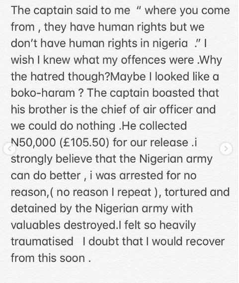 We don't have human rights in Nigeria - Army officer tells UK-based Nigerian businessman he dehumanized lindaikejisblog 4