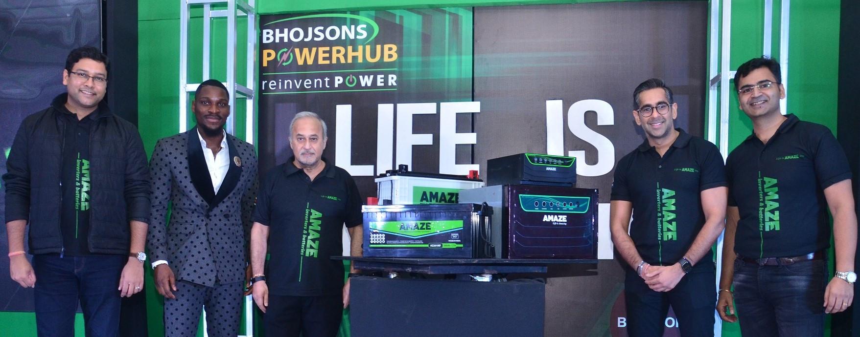 Tobi Bakre, PencilComedian excite dealers as Bhojsons Powerhub Unveils new 'Amaze' Power Backup Solution