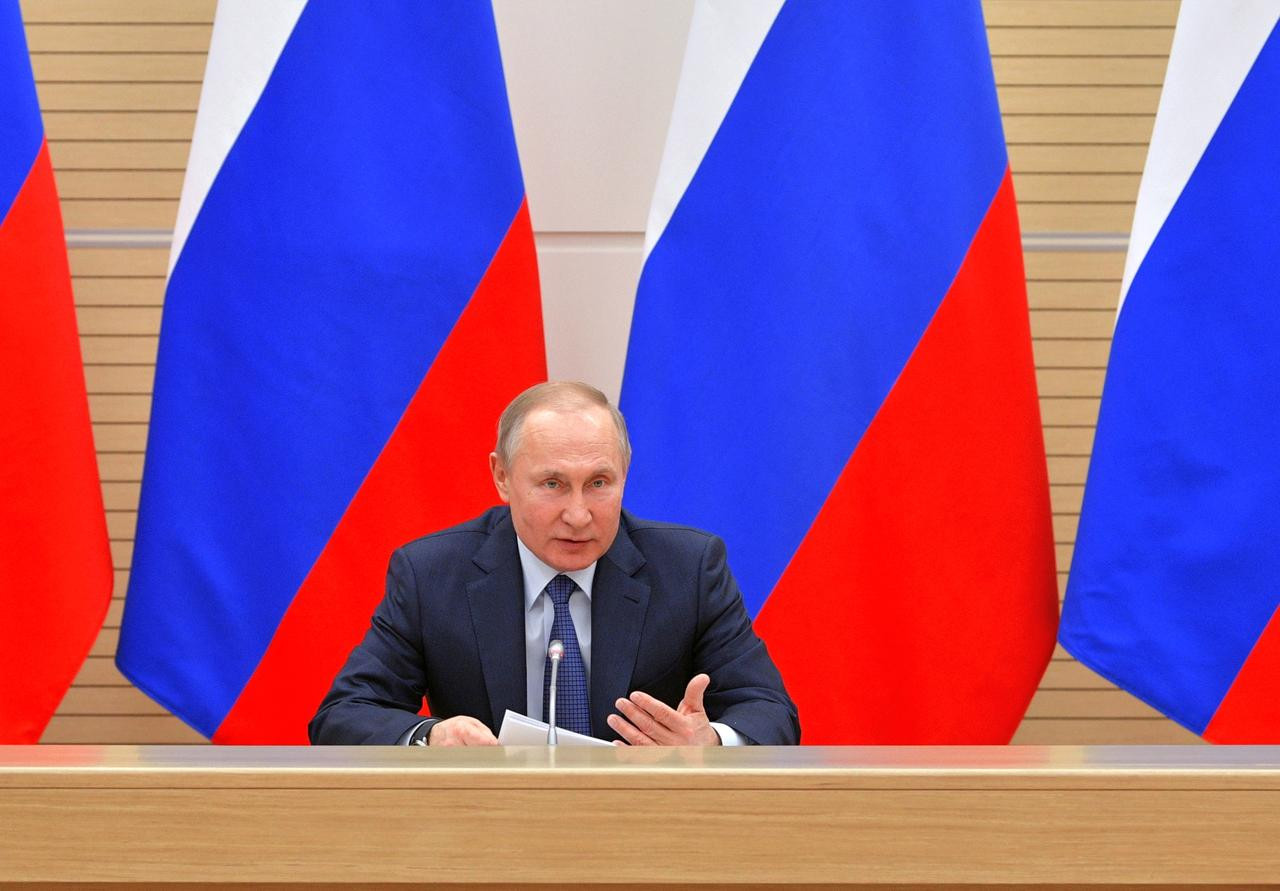 'As long as I'm president, gay marriage will not happen' - President Putin rules out legalizing Gay Marriage in Russia