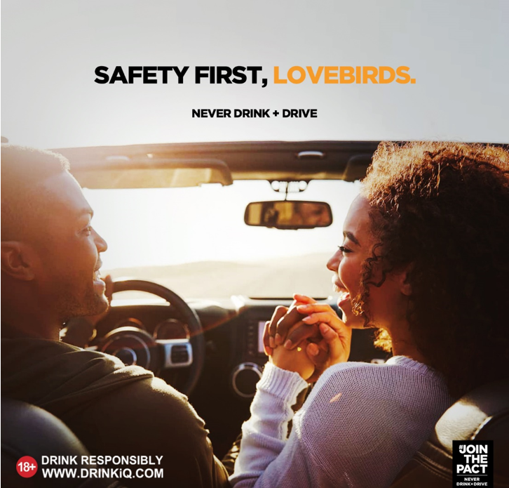 All Lovers Need To Join The Pact To Never Drink And Drive This Valentine Season. Here's Why, All9ja