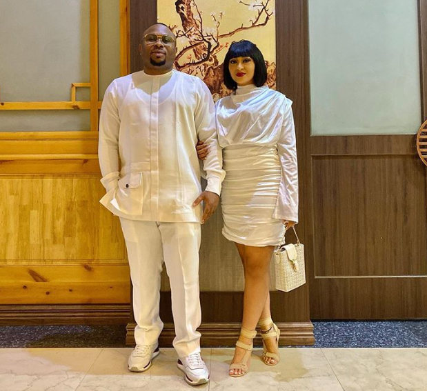 'You are an extension of me, that's why I'll always love you' – Olakunle Churchill declares his undying love for Rosy Meurer on her birthday, All9ja