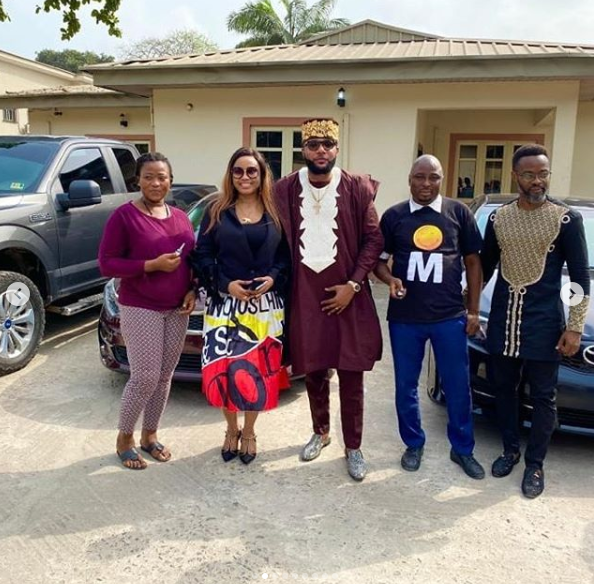 E-Money gives out cars to his staff on his birthday lindaikejisblog 2