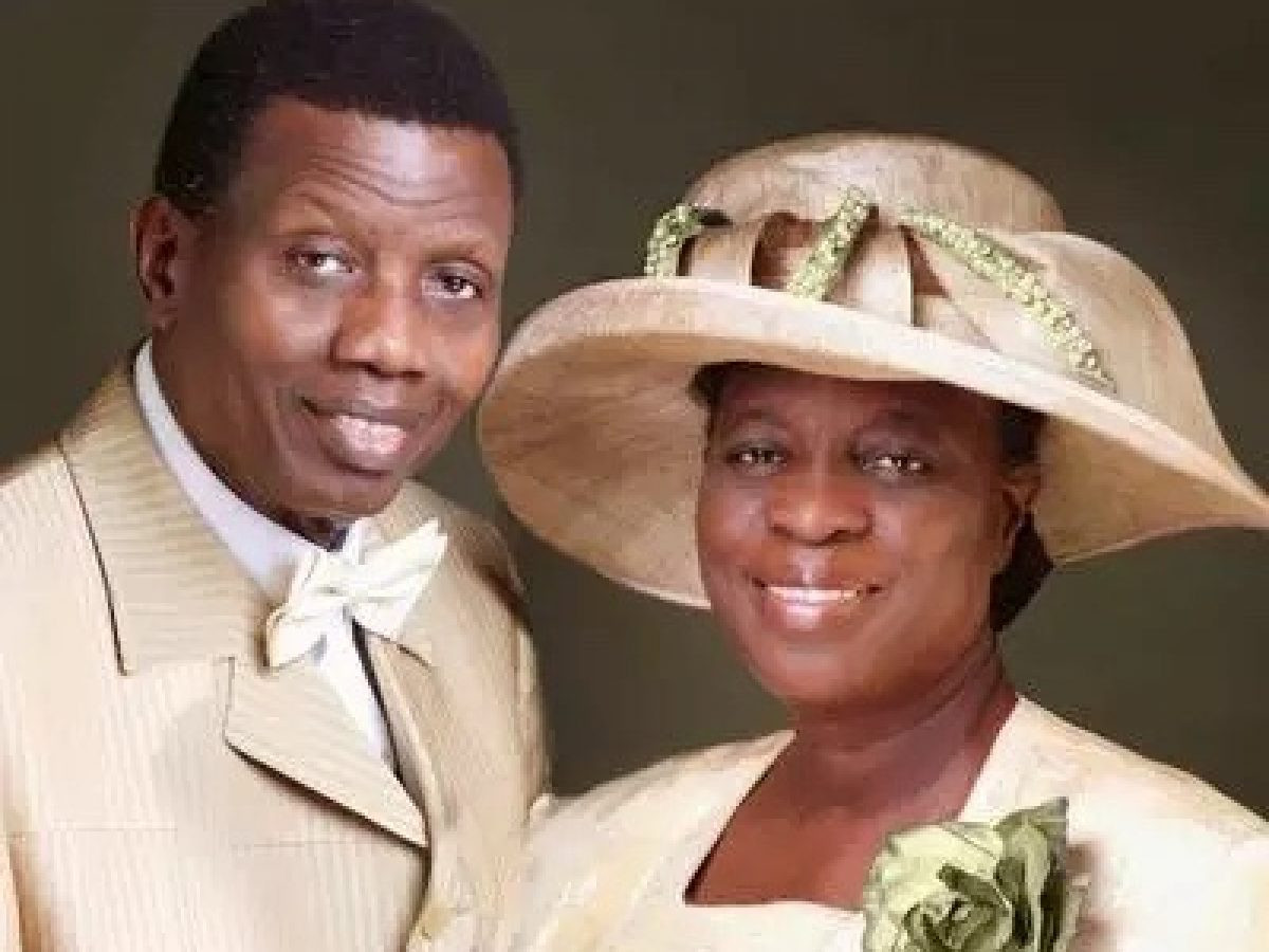 Pastor Adeboye and wife differ on which gender should learn how to cook