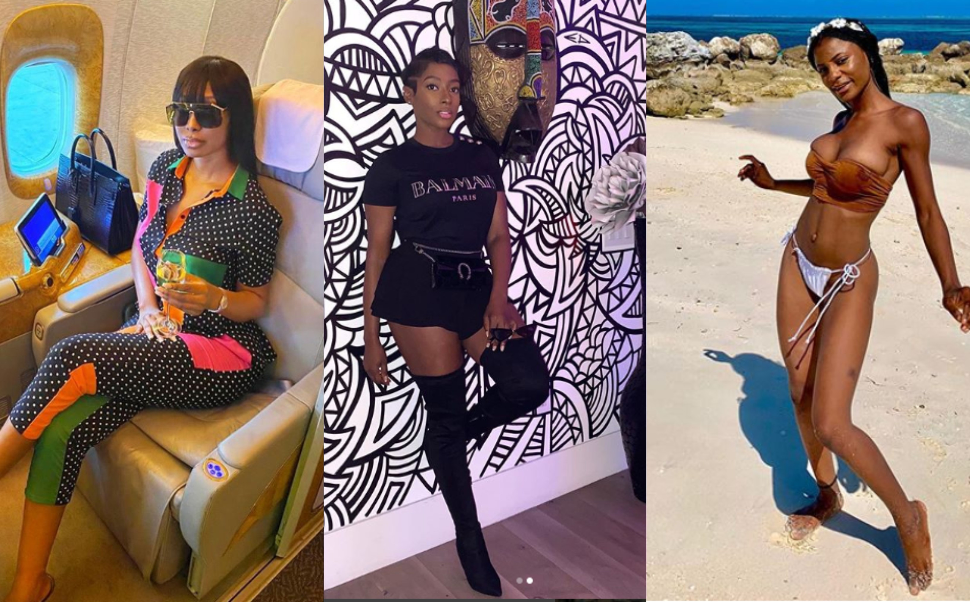 Diane and Sophia Egbueje drag Actress Dorcas Fapson for being a 'leech', shares 'proof' to back claims of her borrowing things from them for Instagram lindaikejisblog