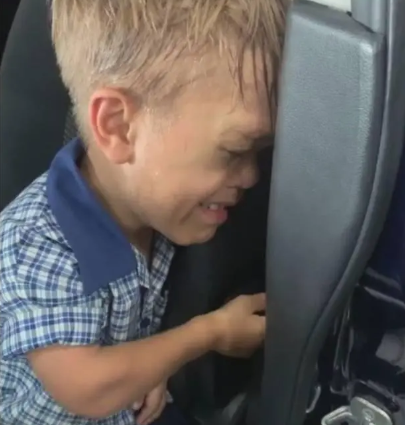 Mom shares video of her 9-year-old son with dwarfism, crying and threatening to commit suicide due to incessant bullying