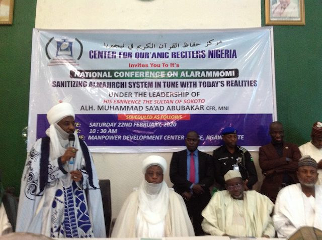 Image result for images of Islam does not support begging, instead seek help from government -- Emir Sanusi