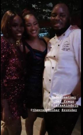 Photos and videos from Adesua Etomi's birthday party lindaikejisblog 2