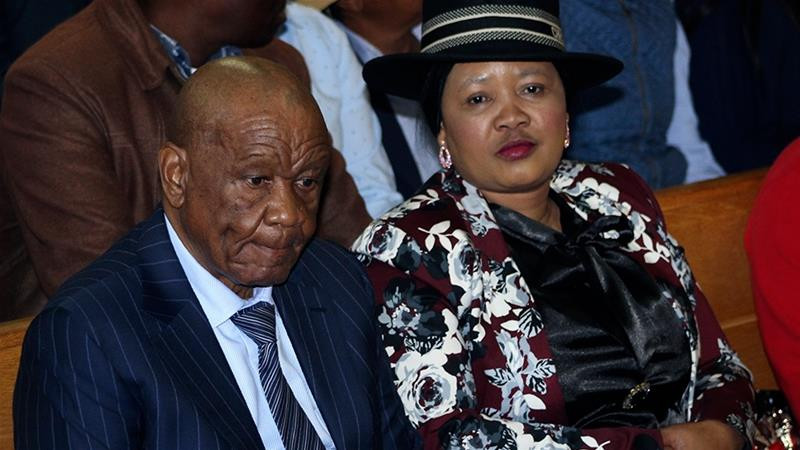 Lesotho's Prime Minister, Thomas Thabane appears in court; seeks immunity over murder of ex-wife. 2